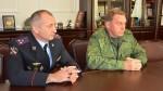 Вячеславу Битарову представили начальника Нацгвардии по Северной Осетии