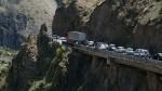 На Военно-Грузинской дороге ждут проезда более 70 машин