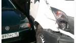 Микроавтобус с республиканскими журналистами попал в аварию