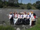 Очистили берега рек