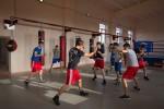 Новый боксерский зал