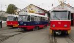 Загоняли трамваи в депо