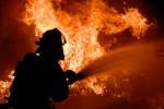 Опять пожар